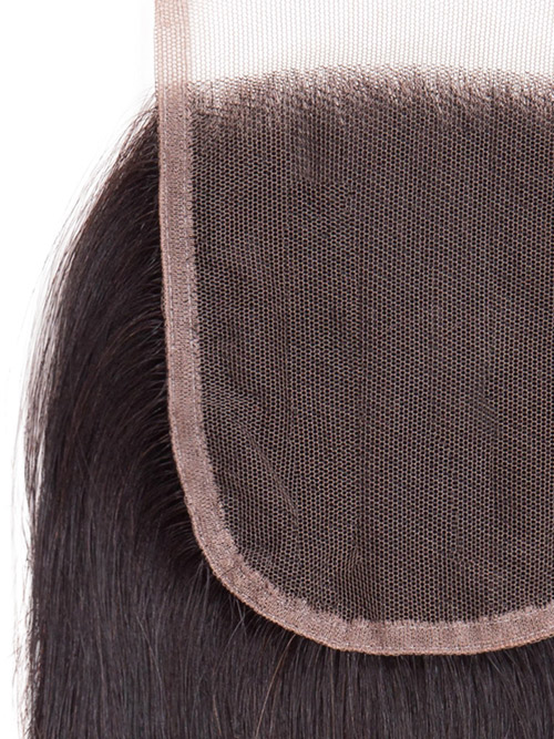 "Sahar Unprocessed Brazilian Virgin Hair Top Lace Closure 4"" x 4"" (10A) - Straight"
