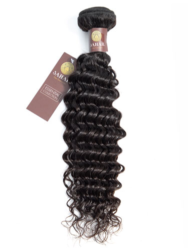 Sahar Essential Virgin Remy Human Hair Extensions 100g (8A) - Deep Wave