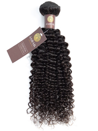 Sahar Essential Unprocessed Virgin Weft Hair Extensions 100g – Jerry Curl