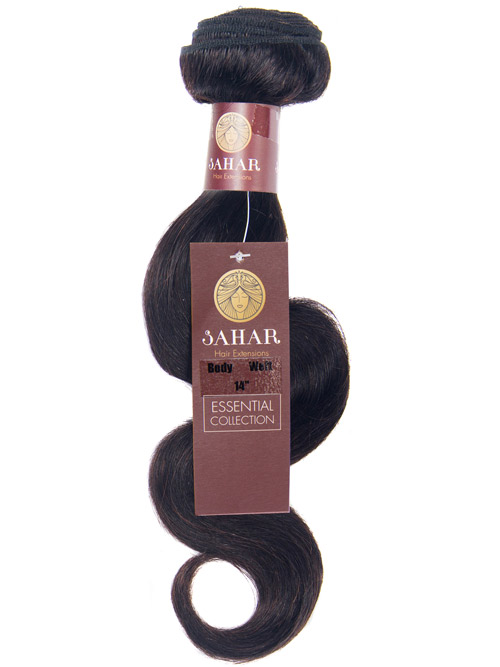Sahar Essential Unprocessed Virgin Weft Hair Extensions 100g - Body Wave