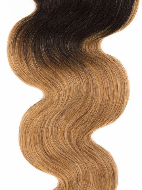 Sahar Essential Virgin Remy Human Hair Extensions 100g (8A) - Body Wave #OT27 18 inch