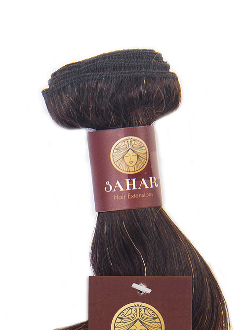 Sahar Essential Virgin Remy Human Hair Extensions 100g (8A) - Body Wave #OT30 14 inch