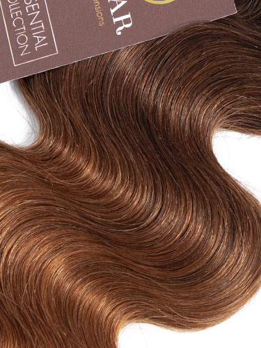 Sahar Essential Virgin Remy Human Hair Extensions 100g (8A) - Body Wave #OT/4/30 24 inch
