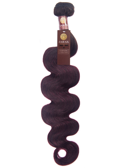 Sahar Essential Virgin Remy Human Hair Extensions 100g (8A) - Body Wave #OT99J 24 inch