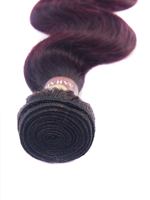 Sahar Essential Virgin Remy Human Hair Extensions 100g (8A) - Body Wave #OT99J 14 inch