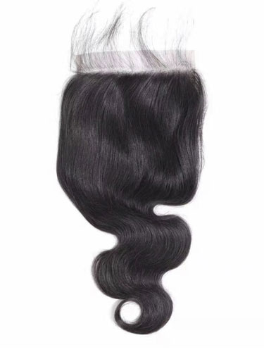 "Sahar Essential Unprocessed Brazilian Virgin Hair Front Lace Closure 6"" x 6"" - Body Wave"