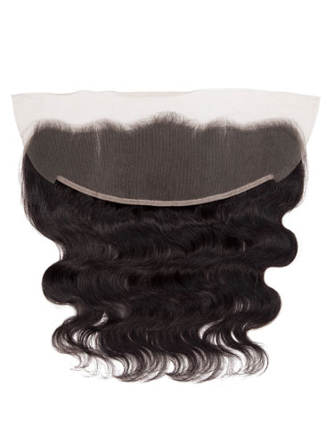 "Sahar Essential Unprocessed Brazilian Virgin Hair Front Lace Closure 4"" x 13"" - Body Wave"