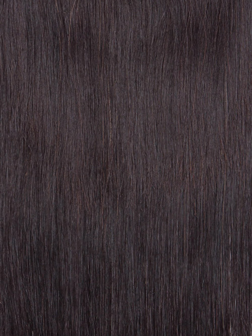 Sahar Essential Unprocessed Virgin Weft Hair Extensions 100g - Straight #1B-Natural Black 22 inch
