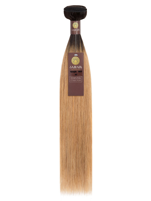 Sahar Essential Virgin Remy Human Hair Extensions 100g (8A) - Straight #OT27 18 inch