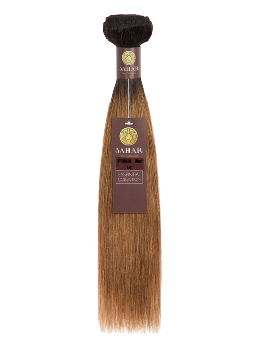 Sahar Essential Unprocessed Virgin Weft Hair Extensions 100g - Straight