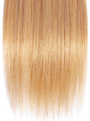 Sahar Essential Virgin Remy Human Hair Extensions 100g (8A) - Straight #OT/4/27 12 inch