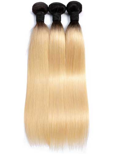 Sahar Essential Virgin Remy Human Hair Extensions Bundle (8A) - #OT613 Straight