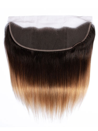 "Sahar Essential Virgin Remy Human Hair Front Lace Closure 4"" x 13"" (8A) - Straight #OT/4/27 16 inch"