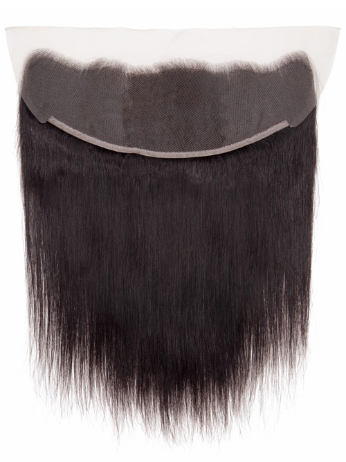 "Sahar Essential Unprocessed Brazilian Virgin Hair Front Lace Closure 4"" x 13"" - Straight"
