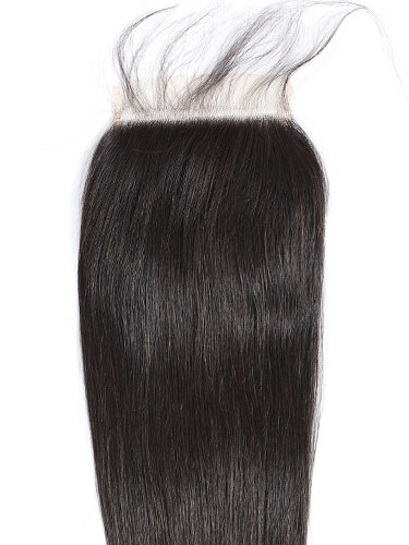 "Sahar Essential Virgin Remy Human Hair Top Closure 6"" x 6"" (8A) - Straight"