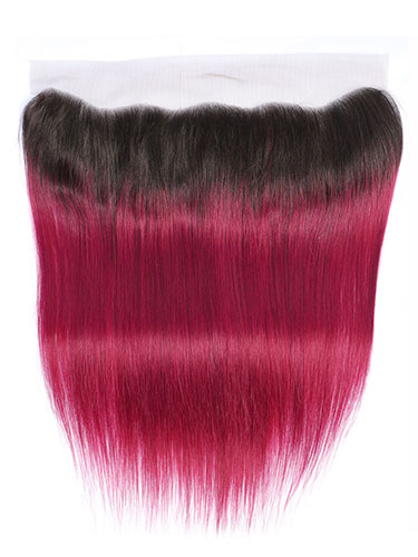 "Sahar Essential Virgin Remy Human Hair Front Lace Closure 4"" x 13"" (8A) - Straight #OT118 12 inch"