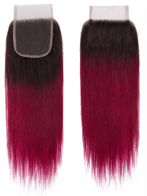 Sahar Essential Unprocessed Virgin Top Lace Closure 4 inch X 4 inch - Straight