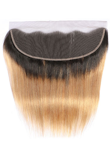 "Sahar Essential Virgin Remy Human Hair Front Lace Closure 4"" x 13"" (8A) - Straight"