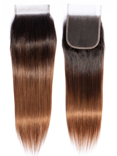 "Sahar Essential Virgin Remy Human Hair Top Lace Closure 4"" x 4"" (8A) - Straight"