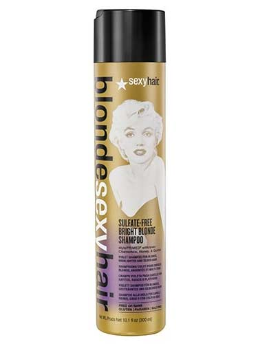 Sexy Hair Sulfate-Free Bright Blonde Violet Shampoo 300ml