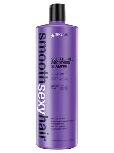 Sexy Hair Sulfate-Free Smooth Anti-Frizz Shampoo (1000ml)