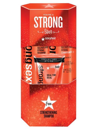 Sexy Hair Strong Star Gift Pack