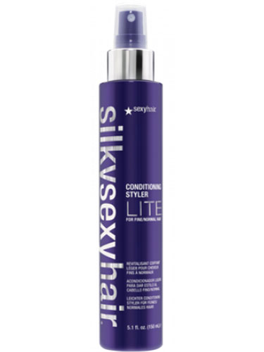 Sexy Hair Silky Conditioning Styling Spray Lite for Fine/Normal Hair (150ml)
