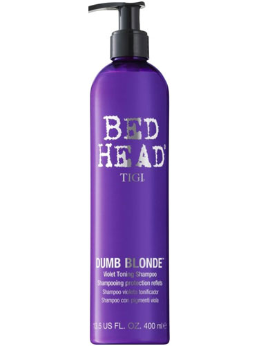 TIGI Bed Head Dumb Blonde Purple Toning Shampoo (400ml)