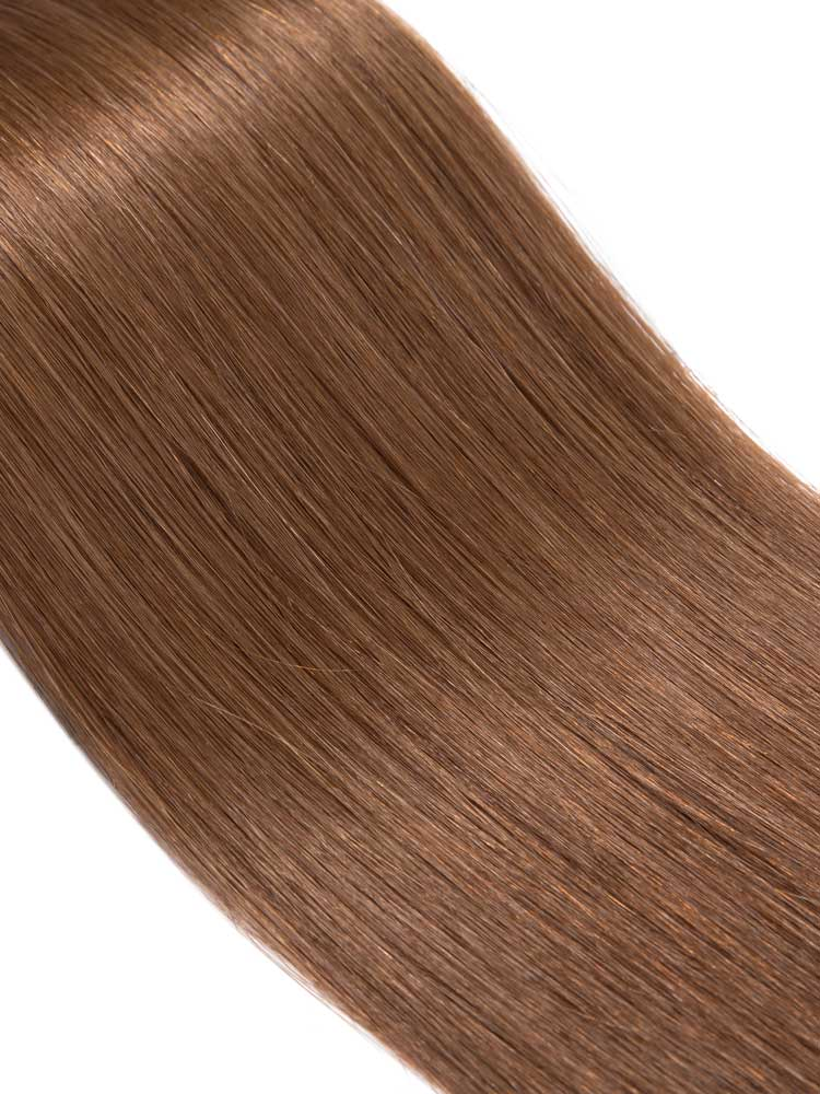 VL Tape In Hair Extensions (20 pieces x 4cm) #6-Medium Brown 18 inch