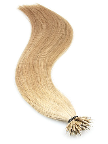 VL Pre Bonded Nano Tip Remy Hair Extensions #18-Ash Blonde 18 inch