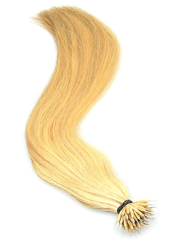 VL Pre Bonded Nano Tip Remy Hair Extensions #10/22/613-Medium Ash Brown/Medium Blonde/Lightest Blonde Mix 18 inch