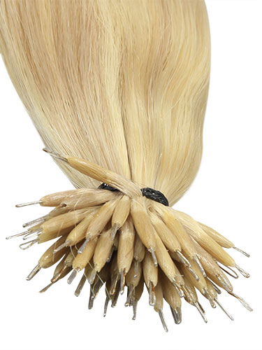VL Pre Bonded Nano Tip Remy Hair Extensions #PV01/60-Light Ash Blonde Mix 14 inch