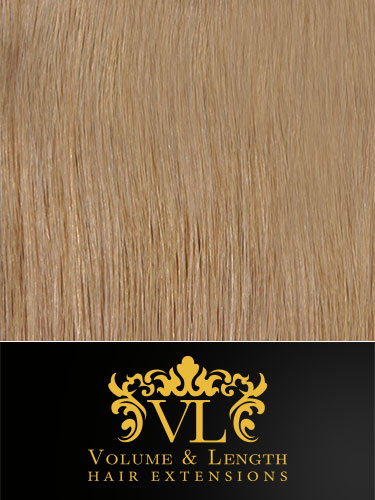 VL Remy Weft Human Hair Extensions #18-Ash Blonde 18 inch 100g