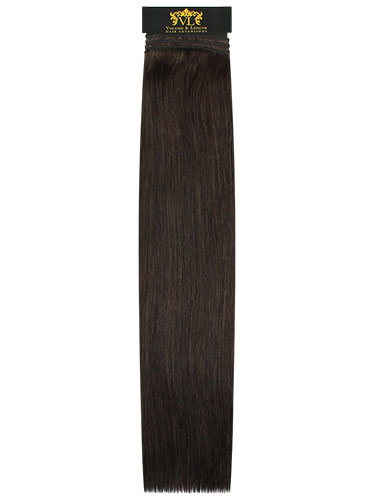 VL Remy Weft Human Hair Extensions #2-Darkest Brown 18 inch 100g