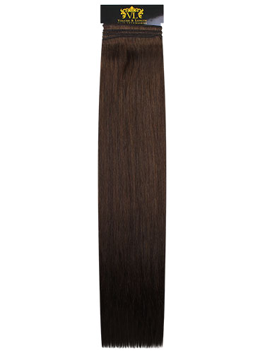 VL Remy Weft Human Hair Extensions #4-Chocolate Brown 22 inch 100g